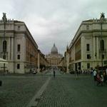 The Via Della Conciliazone leading to St Peter's