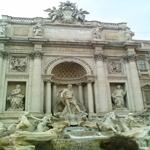 Trevi fountain again