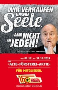 Sepp Blatter postcard