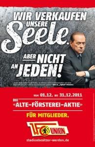 Berlusconi poster