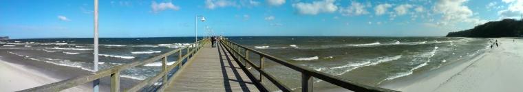 The pier at Göhren
